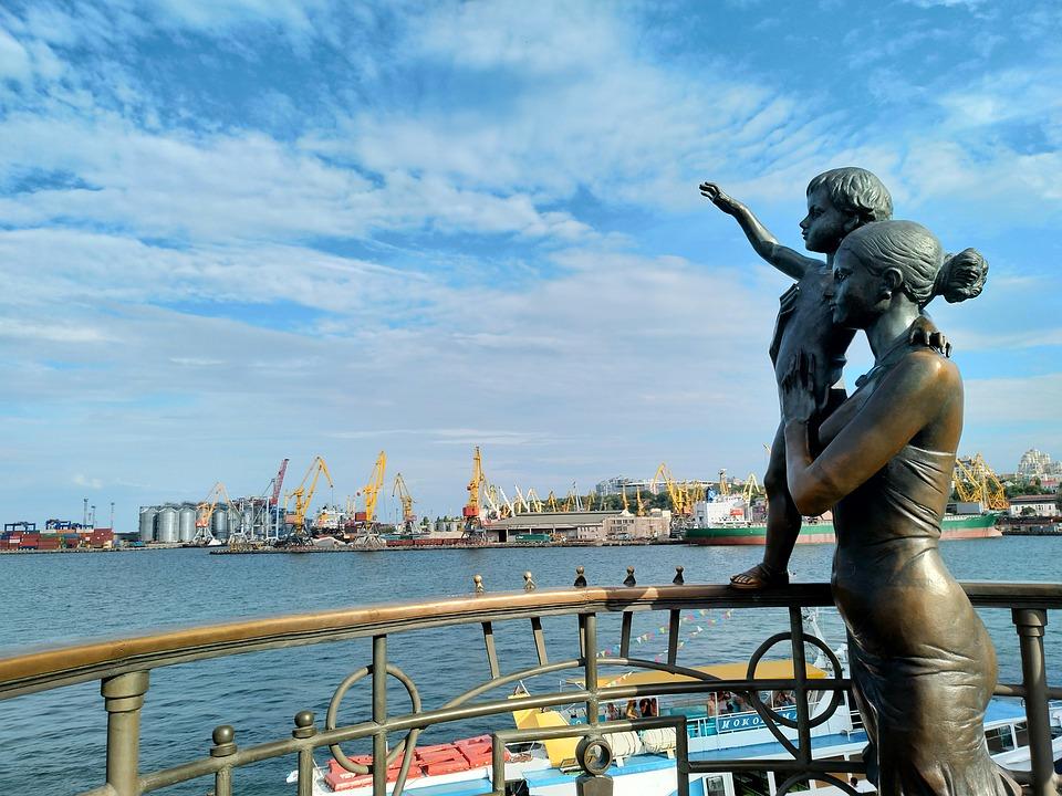 морской порт Одессы