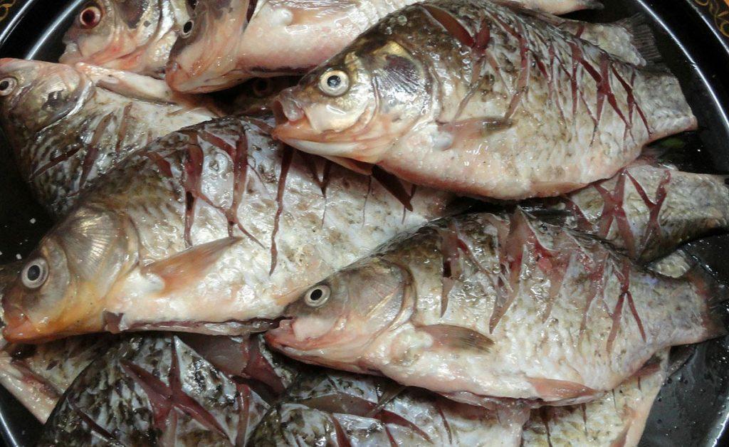 рецепт, рыба, карасики, сметана