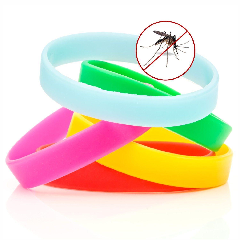 как защититься от комаров при помощи браслета