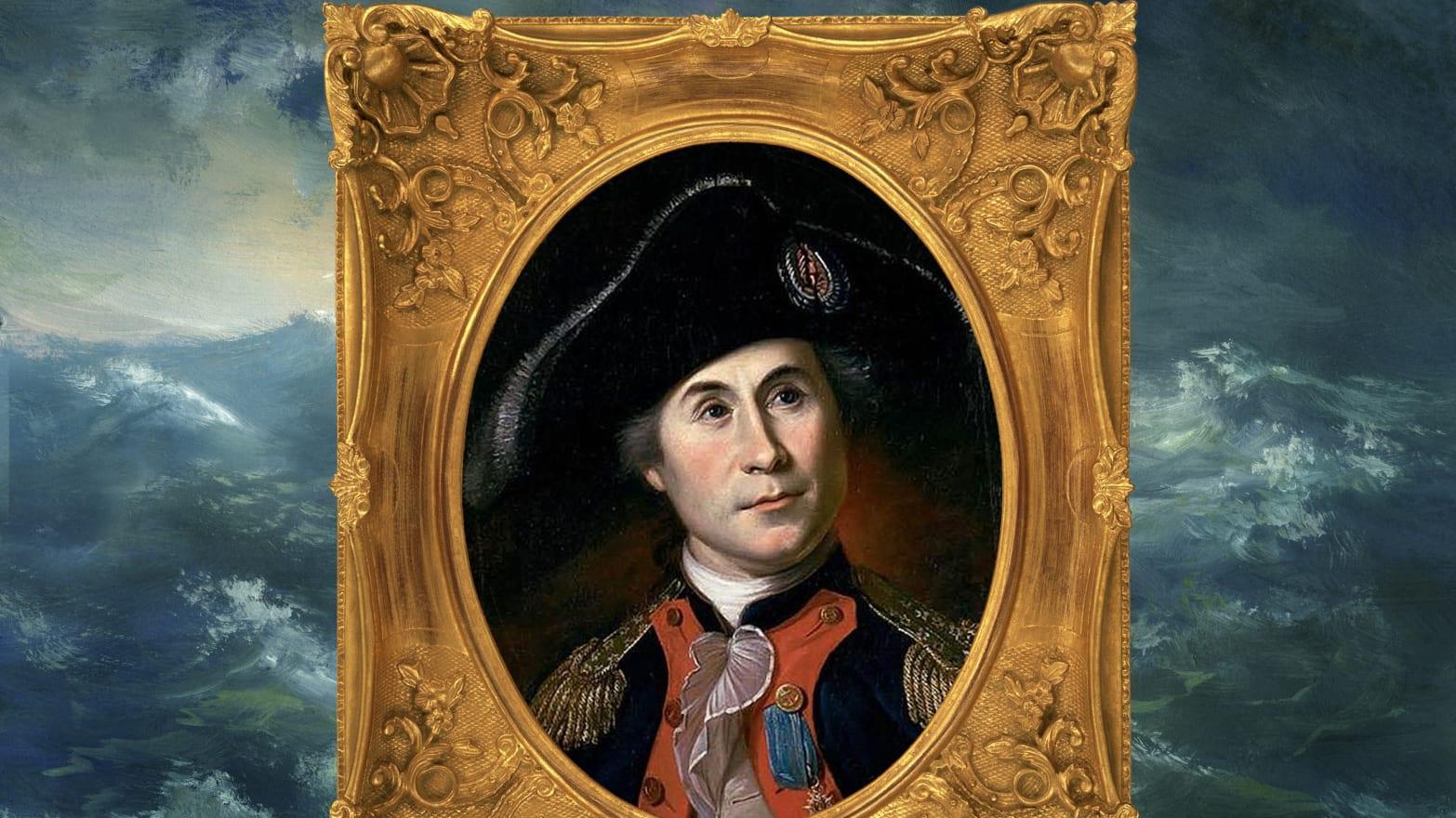 Джон Пол Джонс, основатель военного флота США