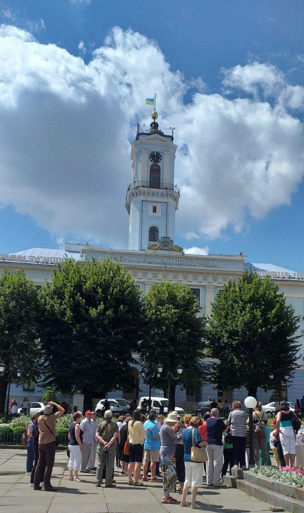 музыкальная ратуша в Черновцах