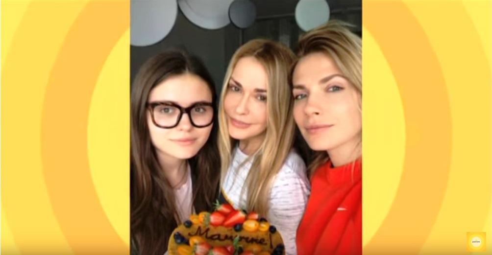 Ольга Сумская и ее дочери