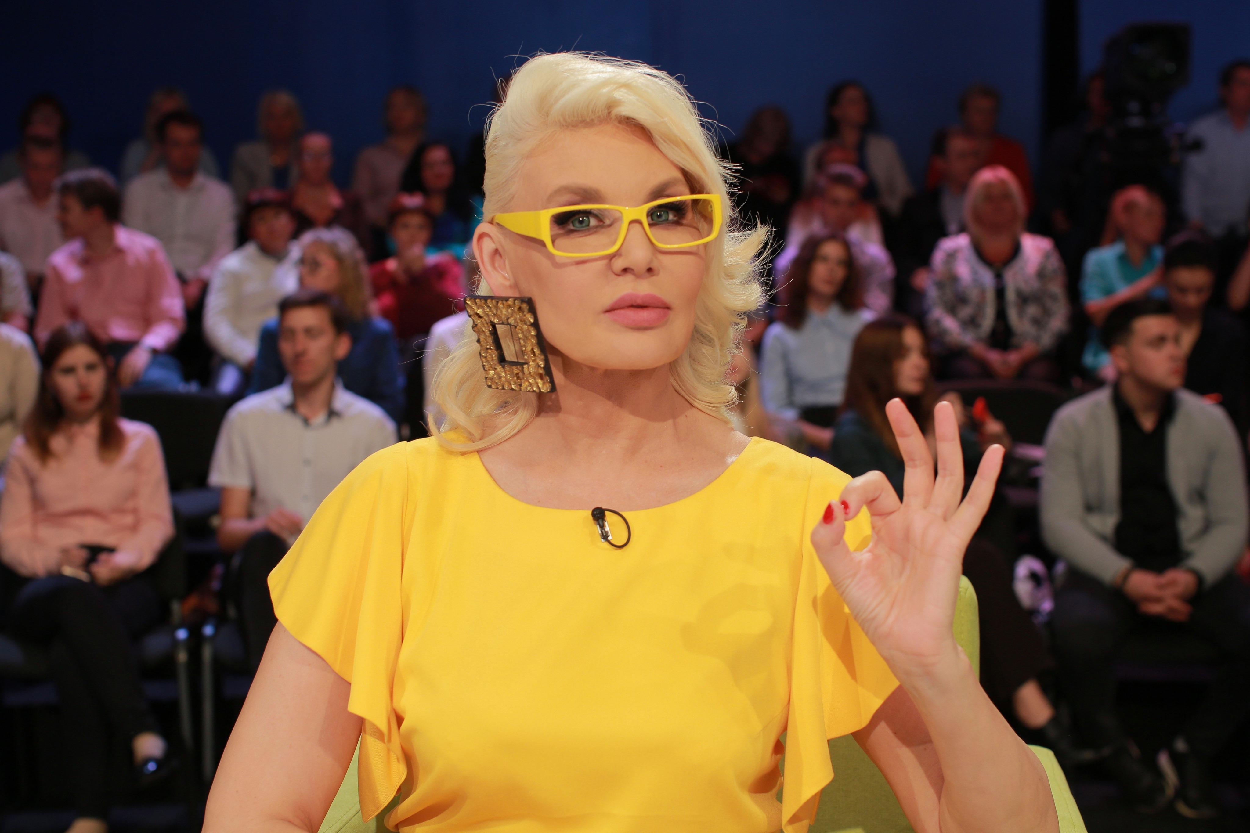 Светлана Вольнова на Интере
