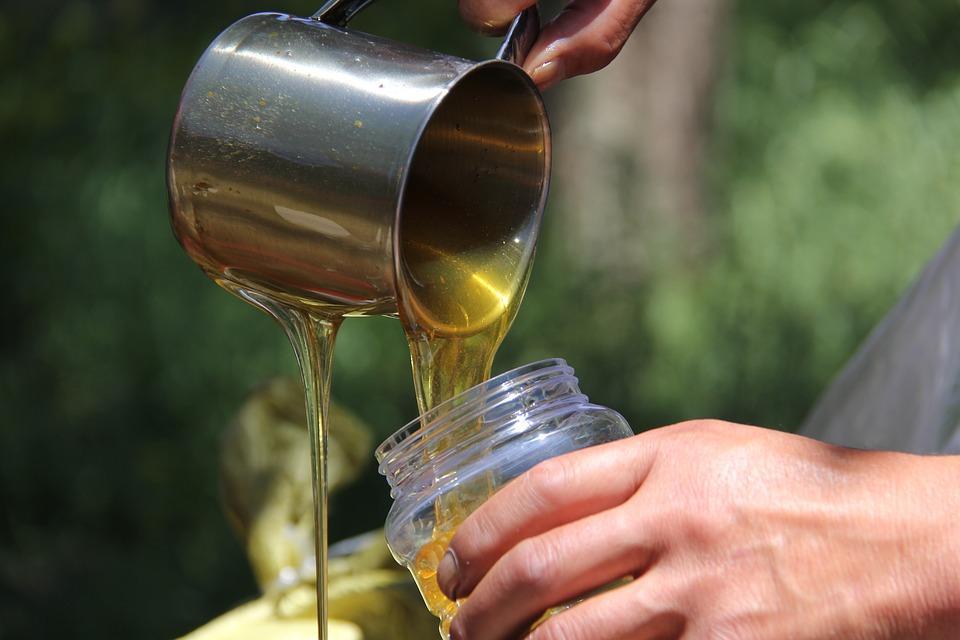 мед на песеке