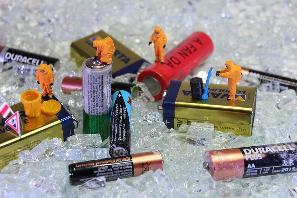 различные батарейки