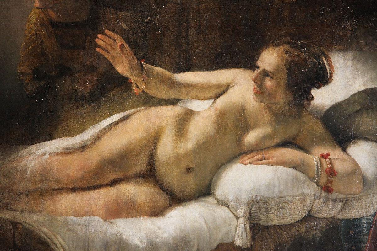 картина Рембранта Даная