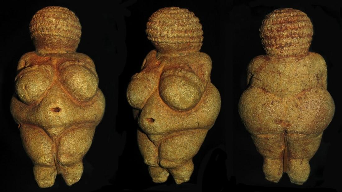 древние фигурки женщин