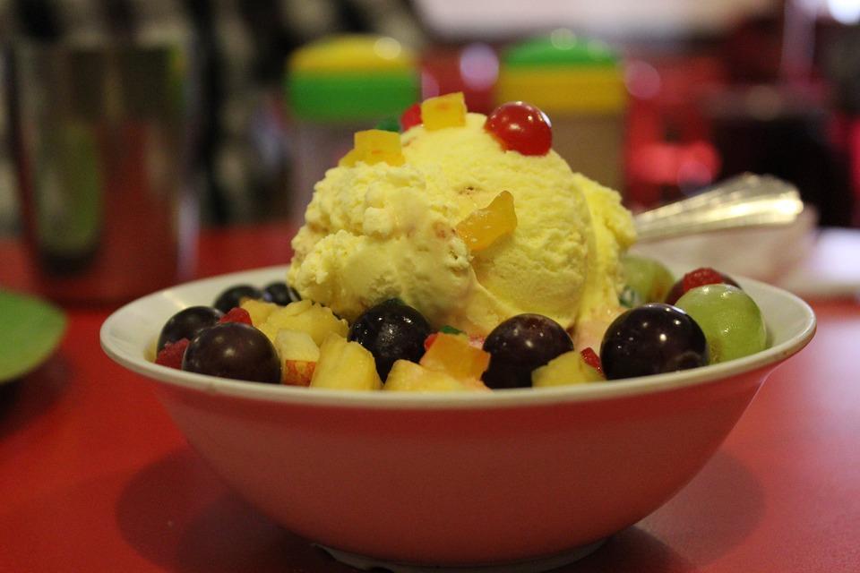 ароматное мороженое из дыни