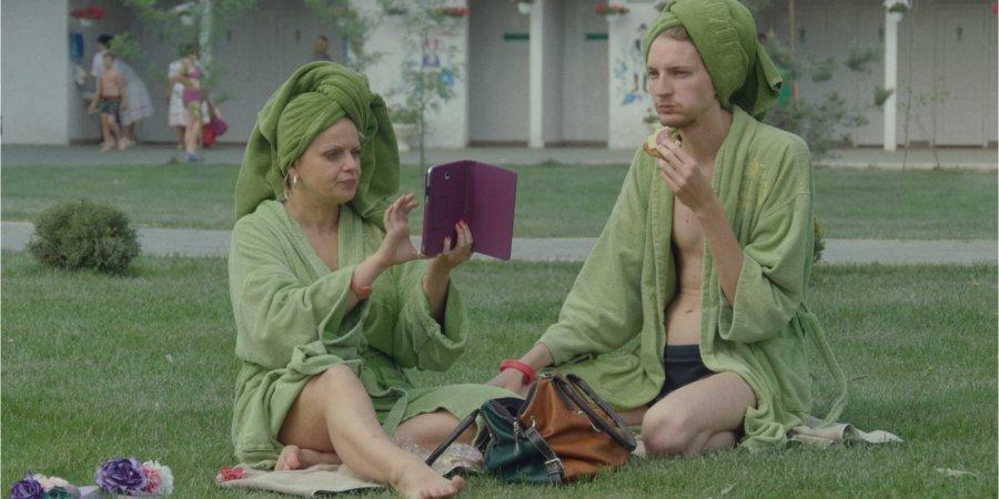 кадр из фильма «Мої думки тихі» с Ирмой Витовской