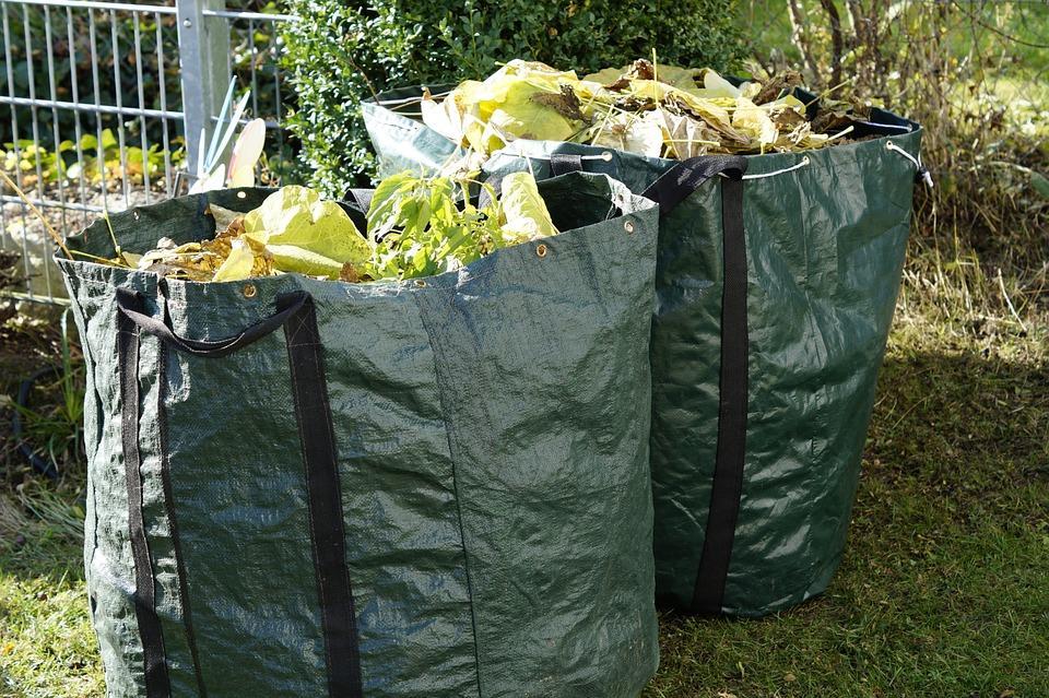 отходы после сбора урожая в саду