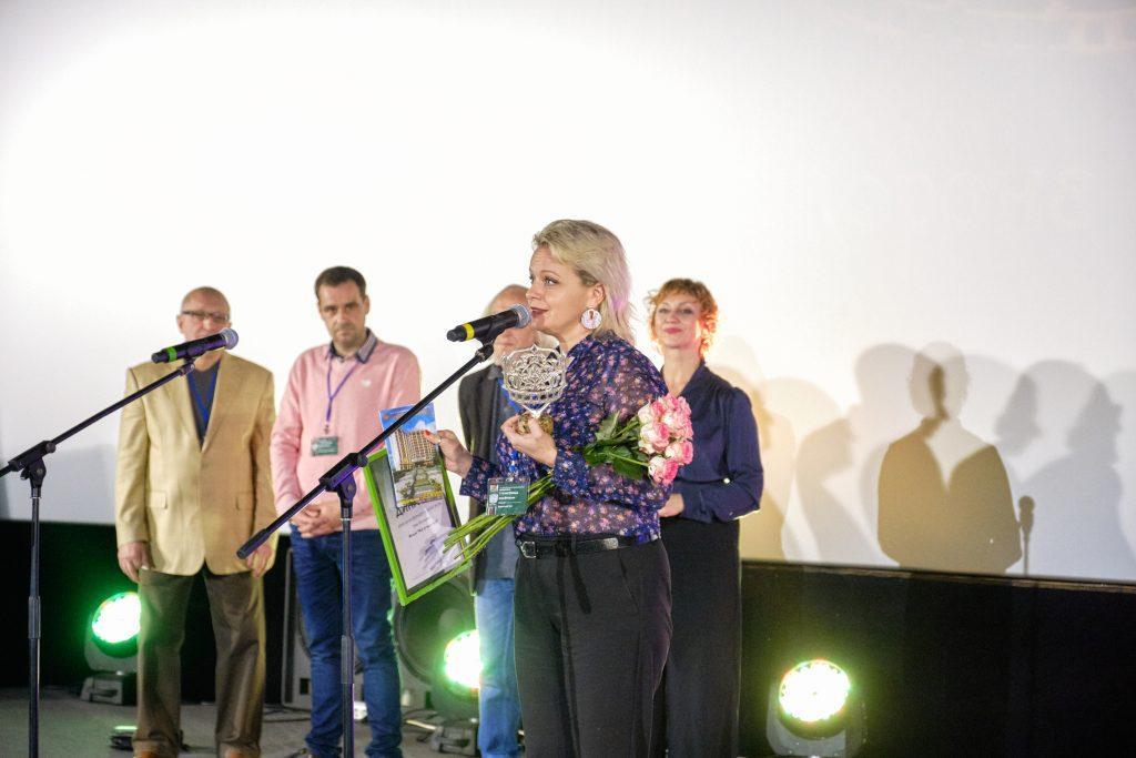 Ирма Витовская получила корону на фестивале