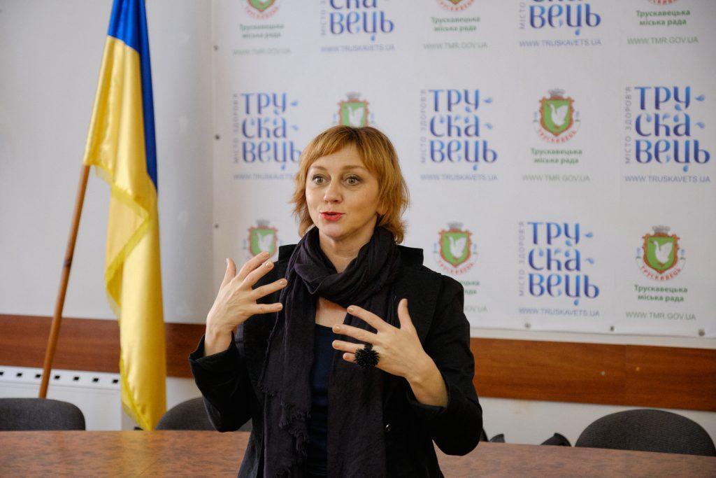 актриса Римма Зюбина в Трускавце на фестивале Корона Карпат