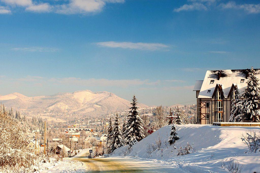 Славское зимой