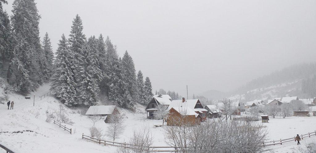 зимний отдых в Славском
