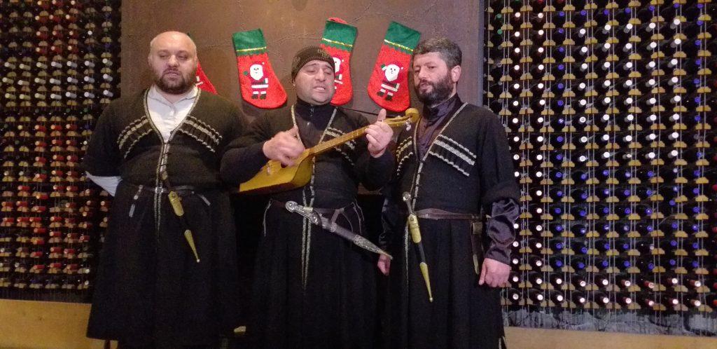 грузиские песни в Ajarian Wine Hause