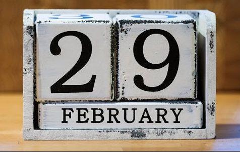 на календаре 29 февраля високосный год
