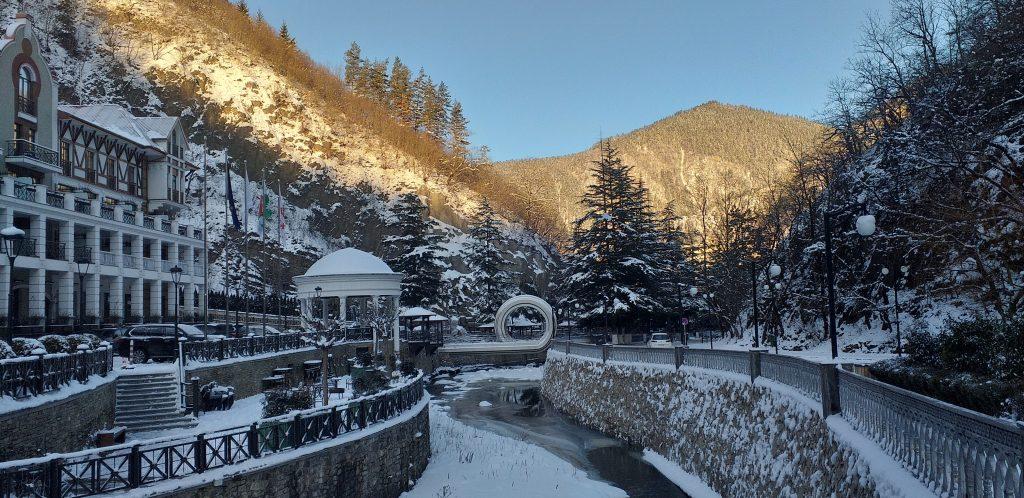 зимний Боржоми