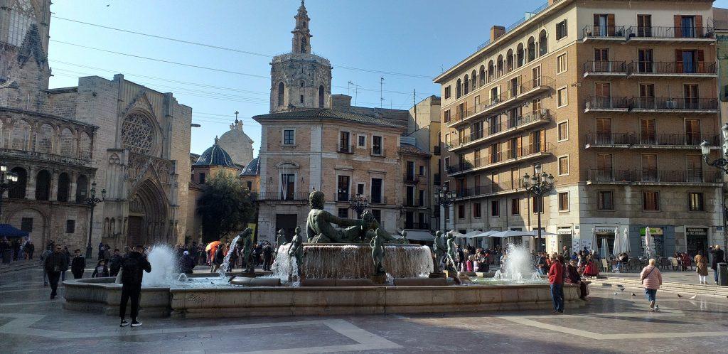 старый город Валенсии Plaza de la Reigna