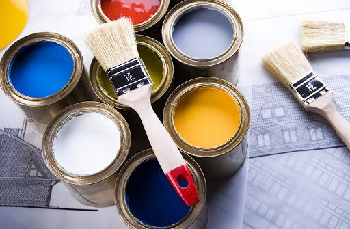 разные краски для стен