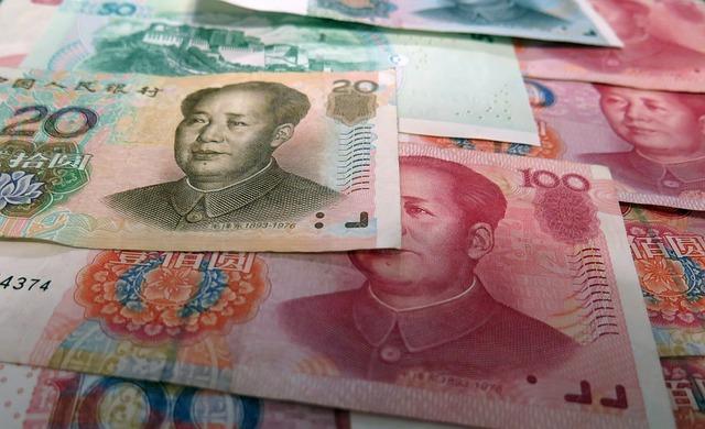 юани в Китае