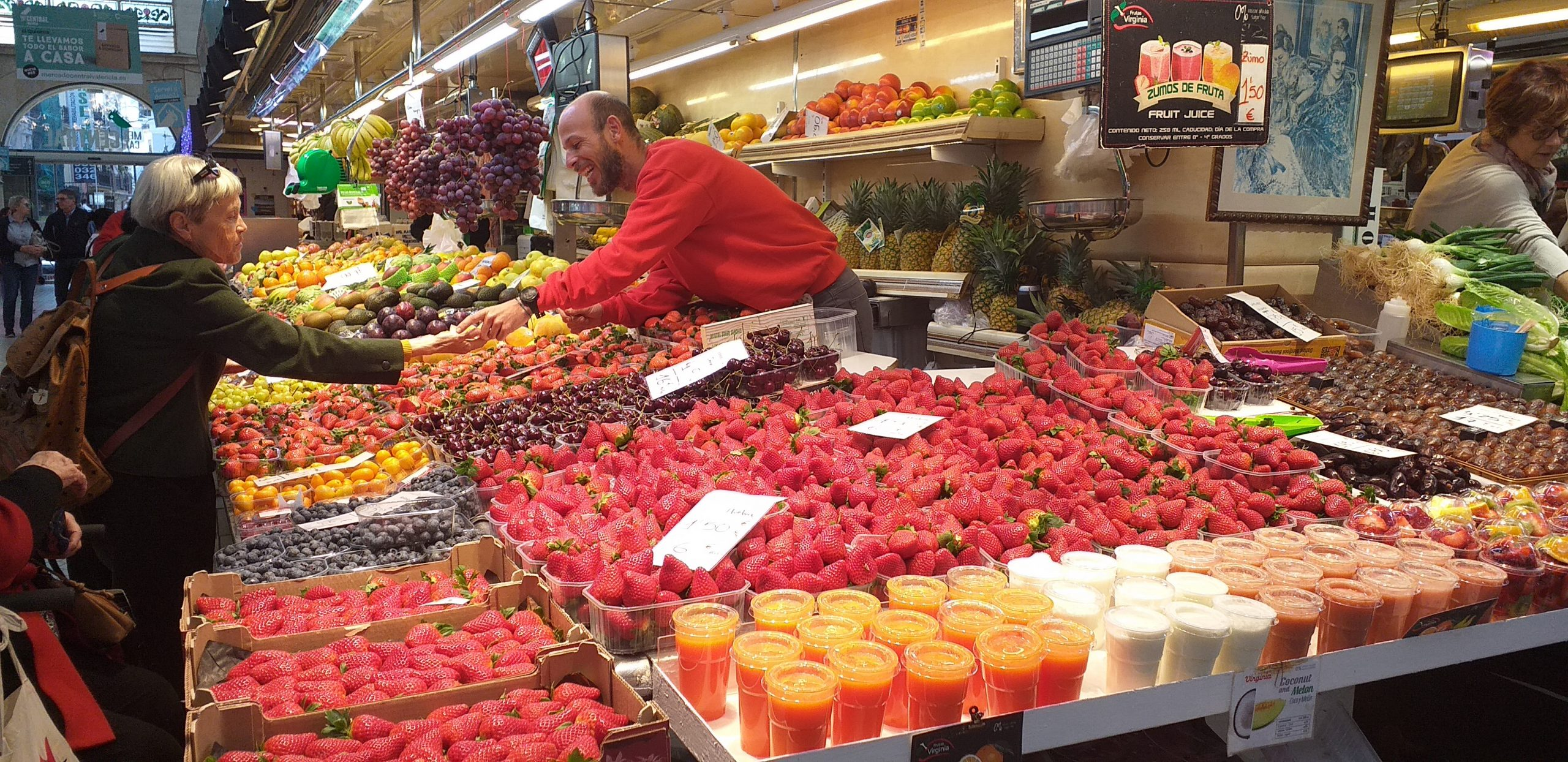 городской рынок в Валенсии