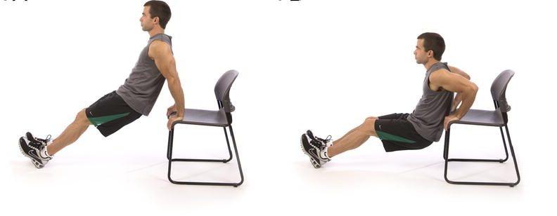 упражнение трицепс