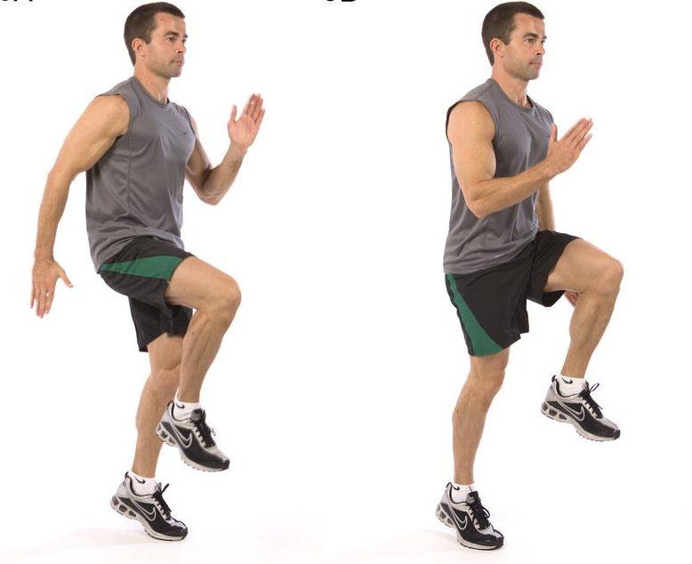 упражнение бег