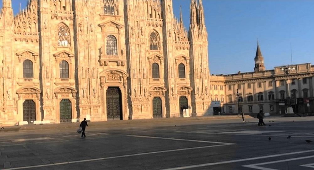 Италия на карантине