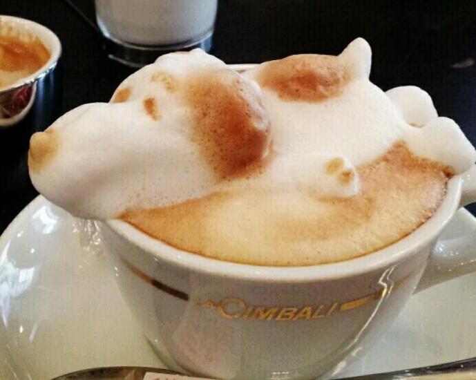 кофе арт Казуки Ямамото