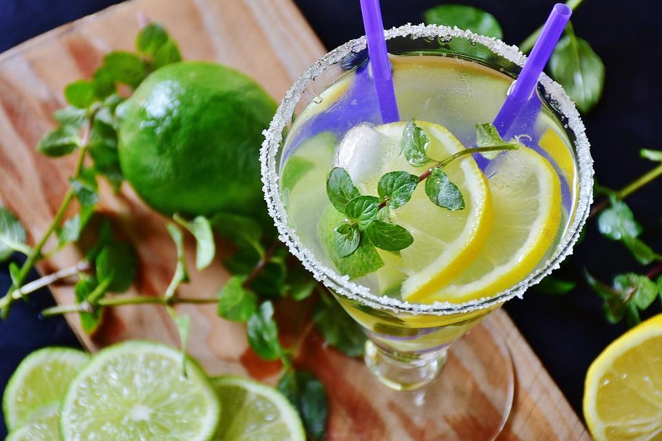 лимонад из лайма и мяты
