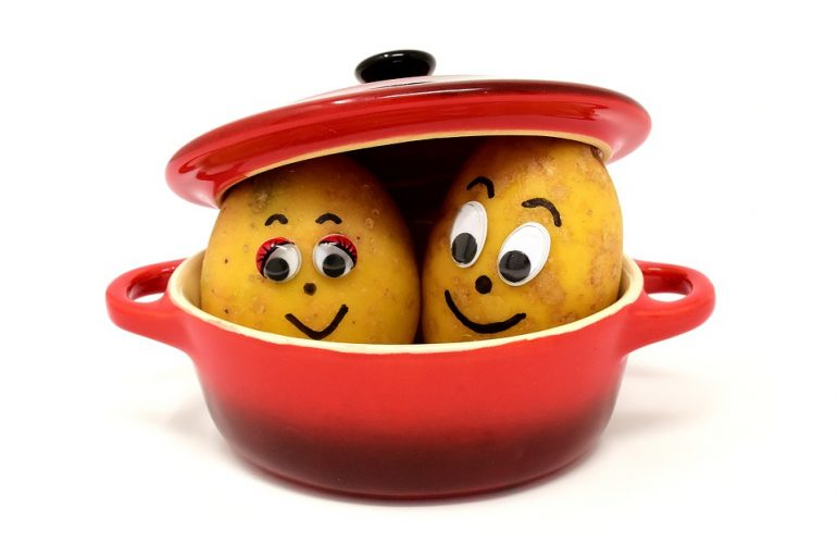 Удаляем ржавчину с помощью картофеля