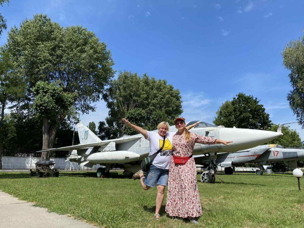 В музее воздушных сил ВСУ в Виннице