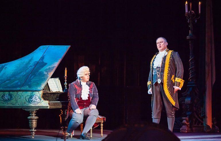 Национальная опера Украины спектакль Моцарт и Сальери