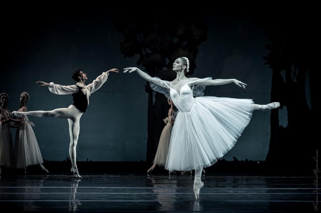 балет Шопениана в национальной опере Украины