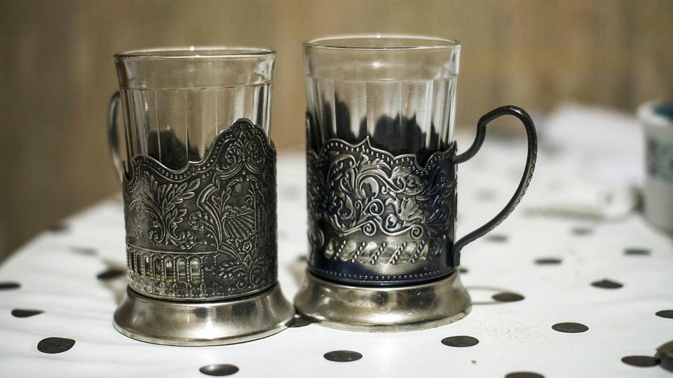 граненые стаканы советских времен