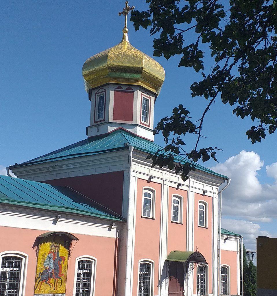 храм Бориса и Глеба в Вышгороде