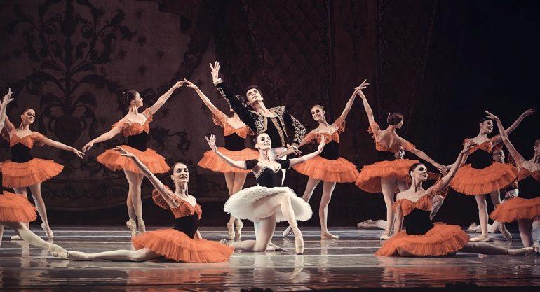 октябрь в национальной опере балет Пахита