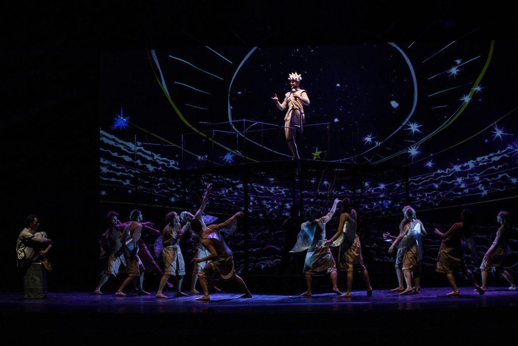 балет Маленький принц на сцене октябрьского дворца