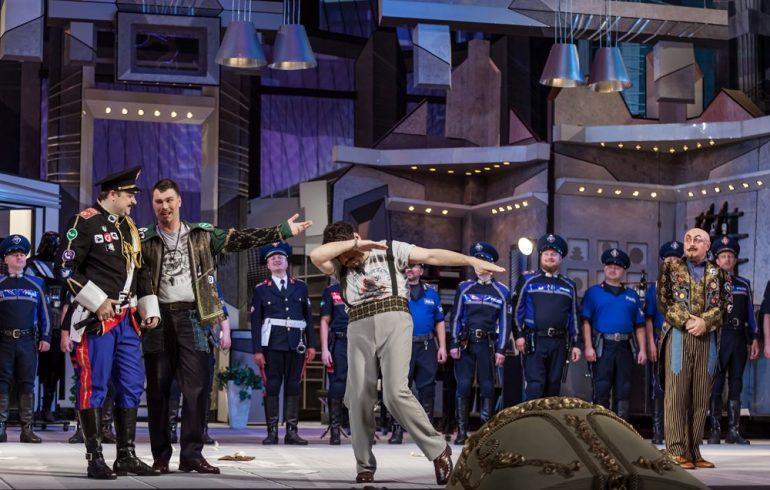 Сивильский цирюльник в киевской опере