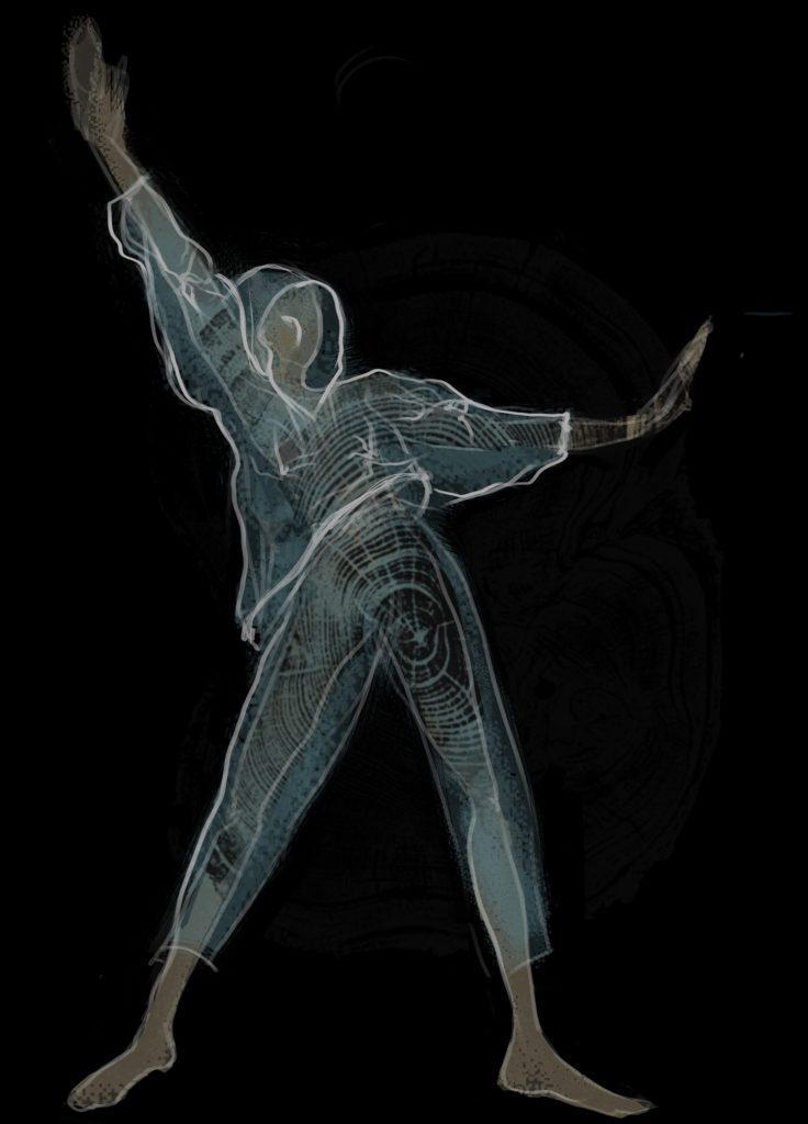 костюм артиста балета ROOTS