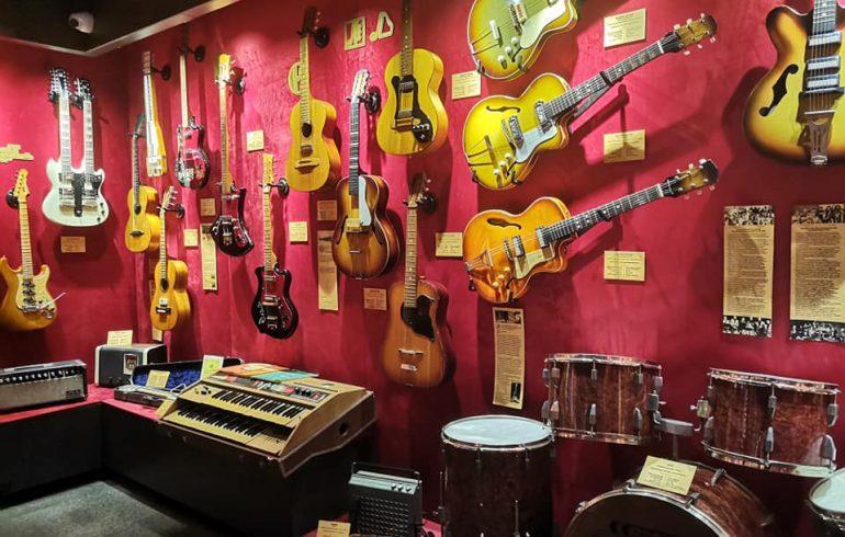 первый в Украине музей гитар