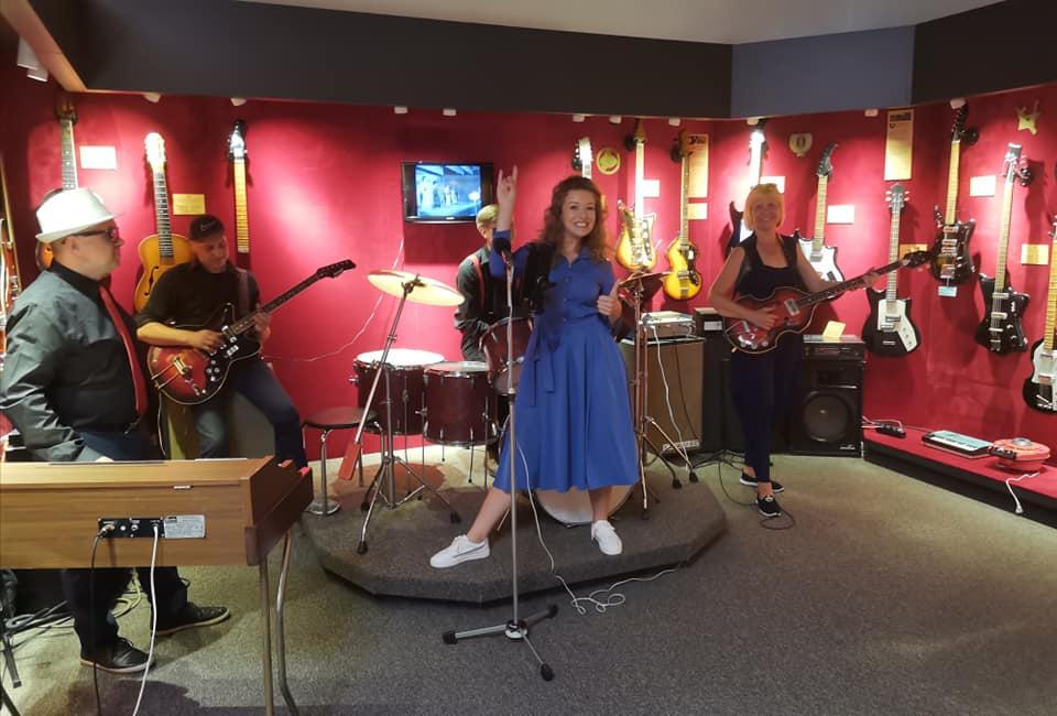 интерактив в музее гитар