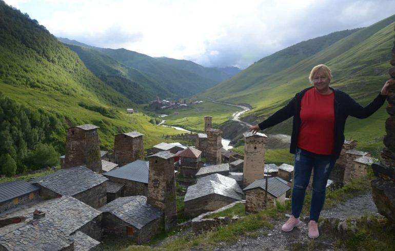 Сванетия славится своими древними башнями