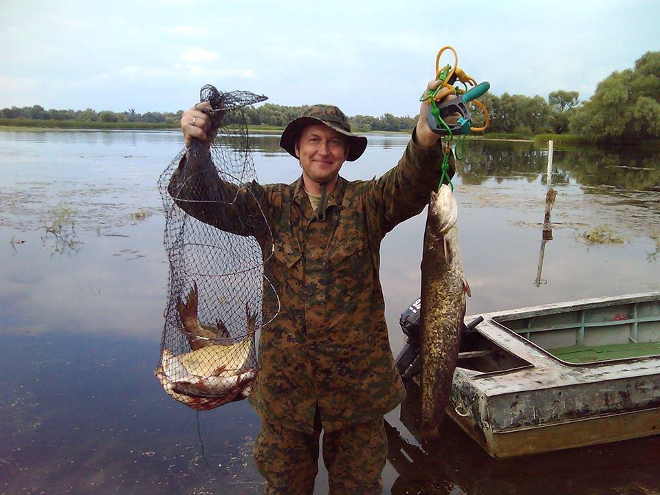 Жерех и компания: трофеи ко Дню рыбака