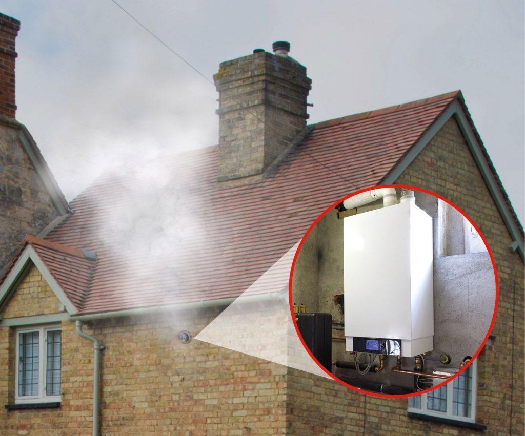 газовый котел установлен в частном доме