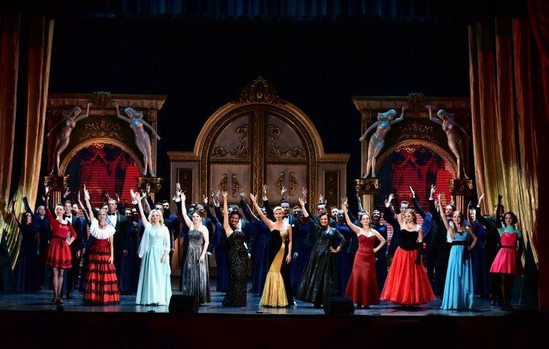 открытие нового театрального сезона в Национальной оперетте Украины