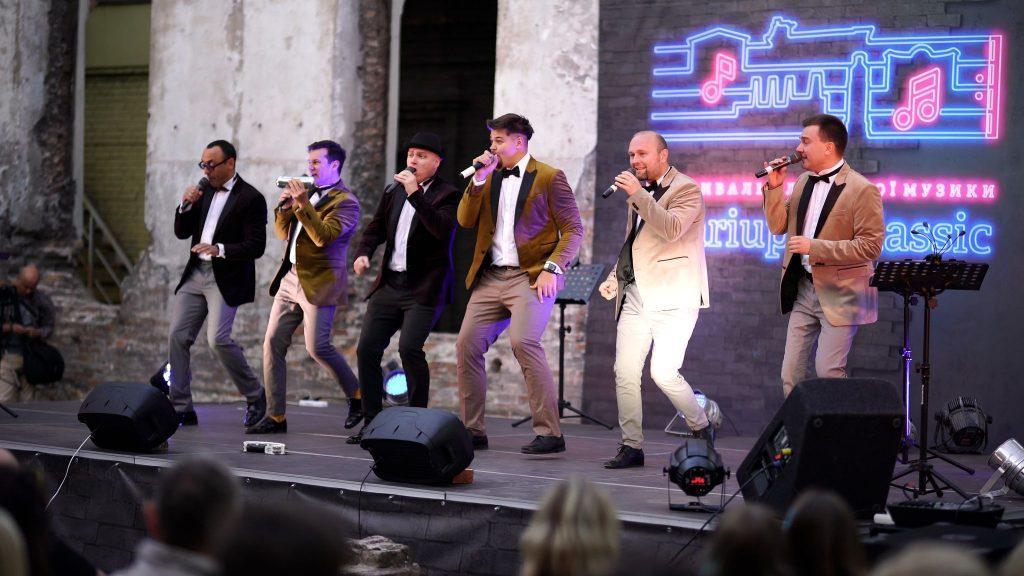 группа Мan Sound на фестивале Mariupol Сlassic